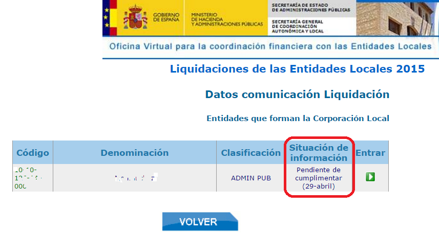 abierto plazo de remisi n de liquidaci n 2015 hasta el 29